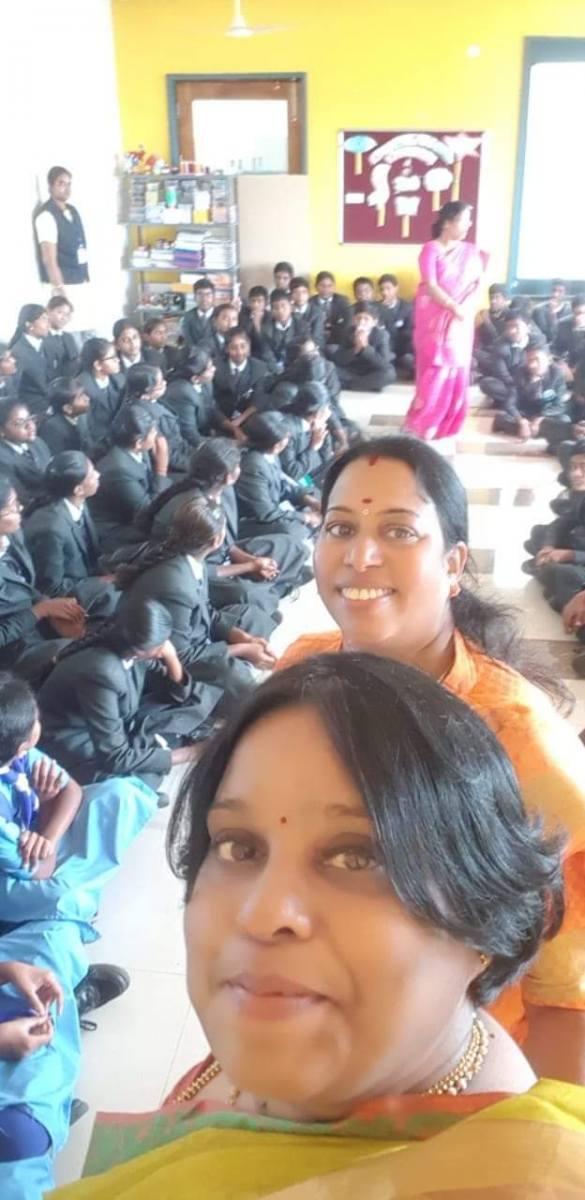 Health Education class for School Children